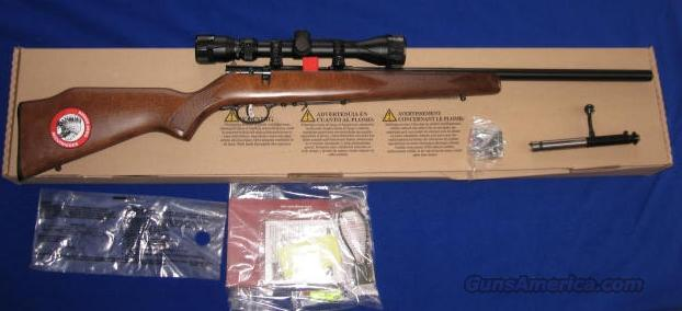 Savage Model 93R17 GVXP 17HMR Bolt Action Rifle w/Scope  Guns > Rifles > Savage Rifles > Accutrigger Models > Sporting