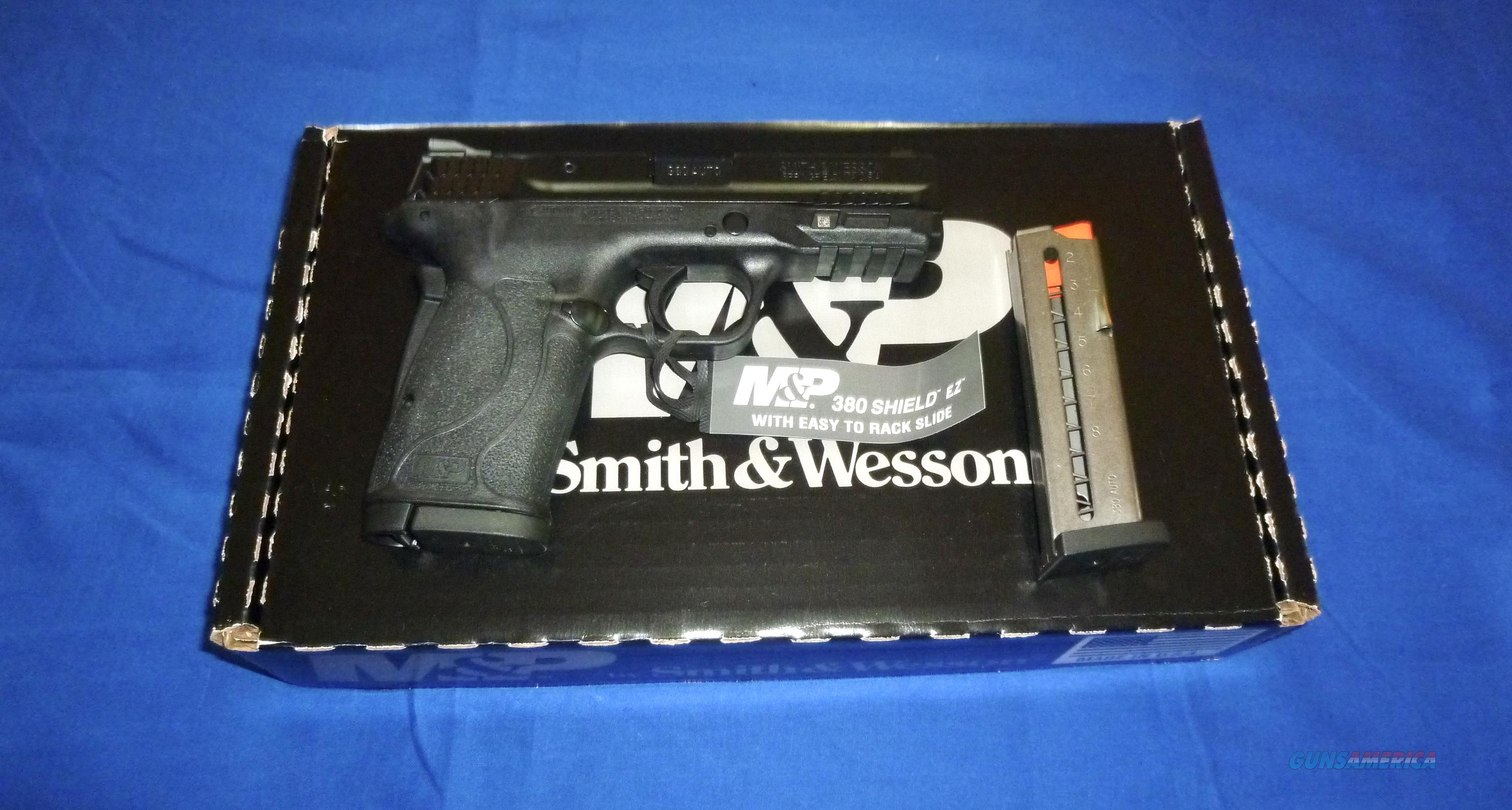 SMITH & WESSON M&P 380 SHIELD EZ. M2.0 NTS PISTO  Guns > Pistols > Smith & Wesson Pistols - Autos > Polymer Frame