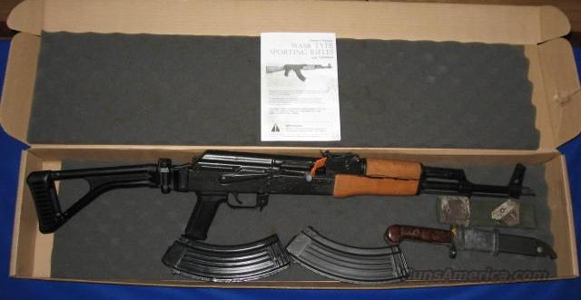 Century Arms GP WASR 10/63 AK-47 Rifle w/Folding Stock 7.62 x 39 Cal  Guns > Rifles > Century International Arms - Rifles > Rifles