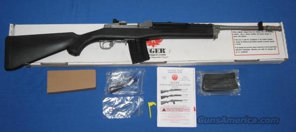 Ruger LE Mini-14/20 GBP 5.56 NATO Semi-Auto Rifle Stainless Steel  Guns > Rifles > Ruger Rifles > Mini-14 Type