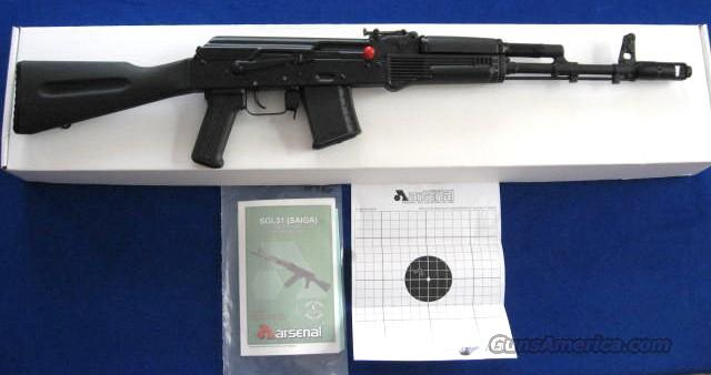 Arsenal SGL31-61 5.45 x 39 Cal. AK-74 Semi-Auto Rifle  Guns > Rifles > AK-47 Rifles (and copies) > Full Stock