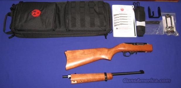 Ruger 10/22 Takedown 22LR Semi-Auto Rifle YSSA TALO Edition Model  Guns > Rifles > Ruger Rifles > 10-22