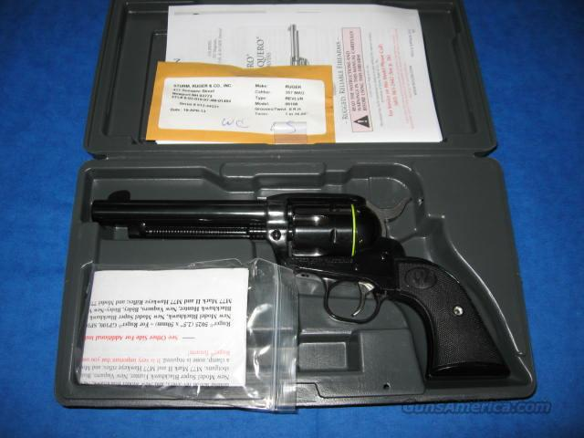 Ruger New Vaquero 357 Magnum Revolver  Guns > Pistols > Ruger Single Action Revolvers > Cowboy Action