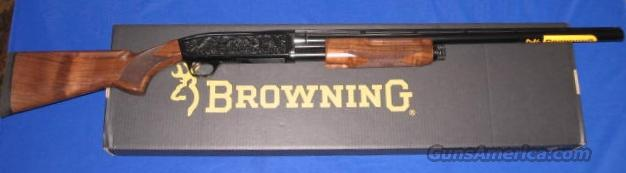 "Browning BPS Hunter Engraved 12 Gauge 3.5"" Pump Action Shotgun  Guns > Shotguns > Browning Shotguns > Pump Action > Hunting"