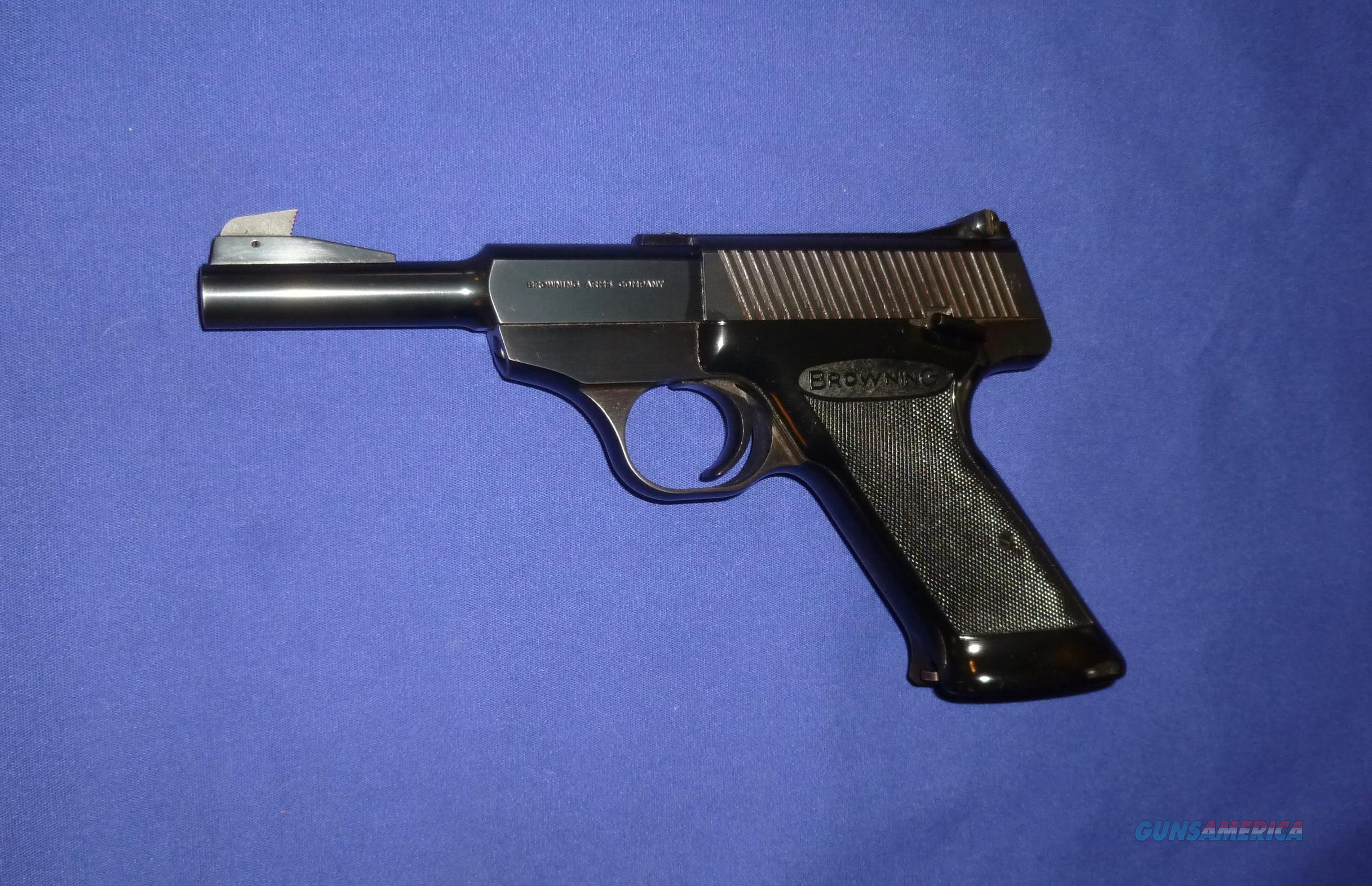 BELGIUM BROWNING NOMAD 22LR PISTOL  Guns > Pistols > Browning Pistols > Other Autos