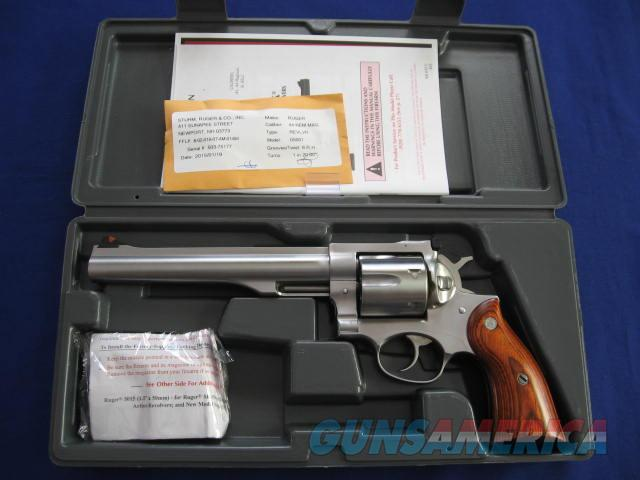 Ruger Redhawk 44 Magnum Double Action Stainless Steel Revolver   Guns > Pistols > Ruger Double Action Revolver > Redhawk Type