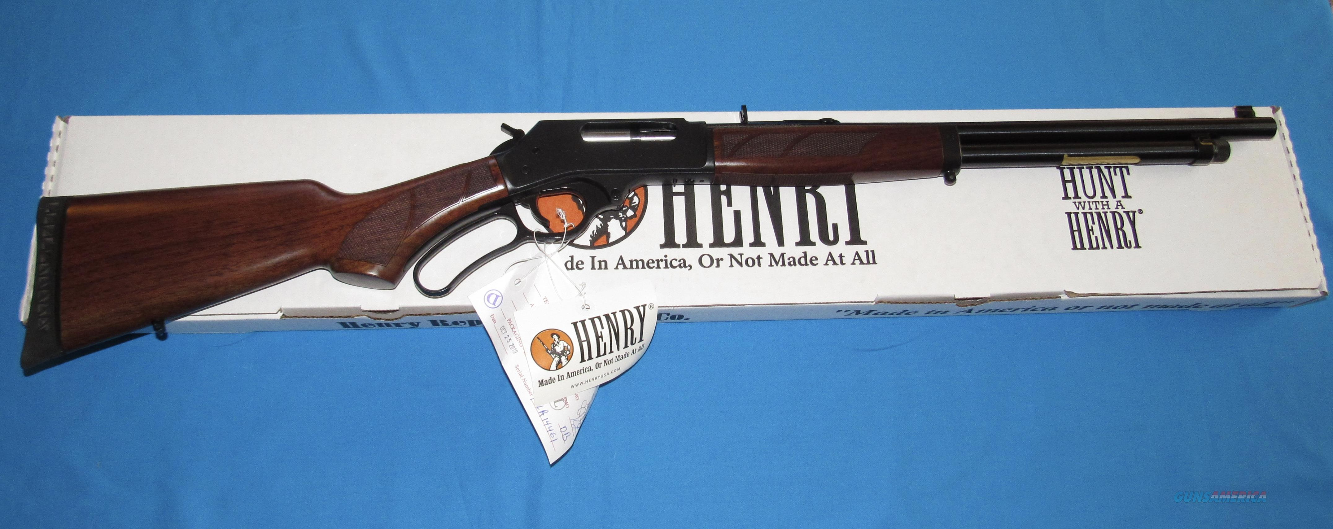HENRY 410 GAUGE LEVER ACTION SHOTGUN  Guns > Shotguns > Henry Shotguns