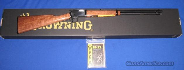 Browning BL-22 22 Caliber Lever Action Rifle  Guns > Rifles > Browning Rifles > Lever Action