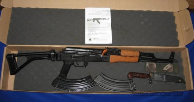 Century Arms WASR 10/63 AK-47 Rifle w/Side Folding Stock 7.62 x 39  Guns > Rifles > Century International Arms - Rifles > Rifles