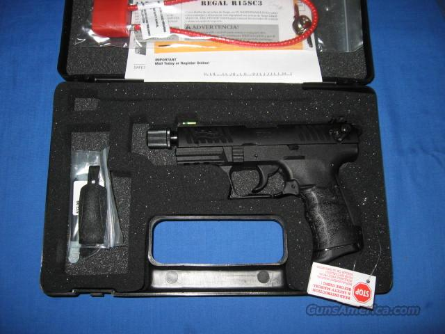 Walther P22 Tactical 22LR Pistol  Guns > Pistols > Walther Pistols > Post WWII > P22