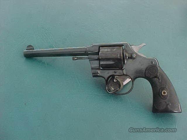 "Colt New Army Special .38 6"" barrel Nice 1905  Guns > Pistols > Colt Double Action Revolvers- Pre-1945"