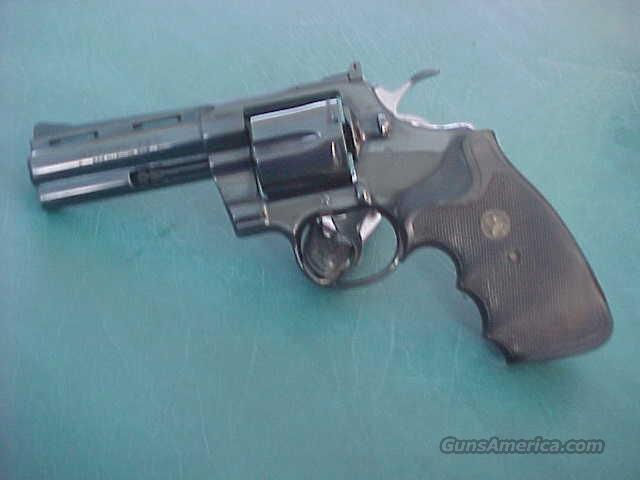 "Colt Python 4"" barrel Like new .357 Mag  Guns > Pistols > Colt Double Action Revolvers- Modern"