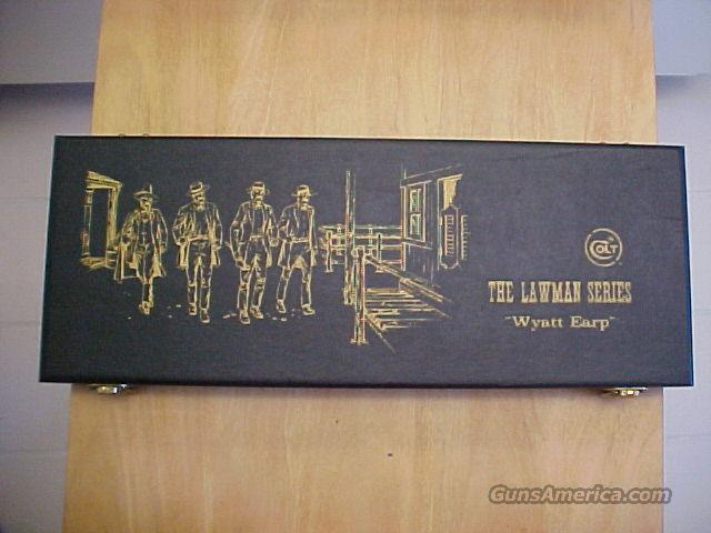 Colt Lawman Series- Wyatt Earp  Guns > Pistols > Colt Single Action Revolvers - Modern (22 Cal.)