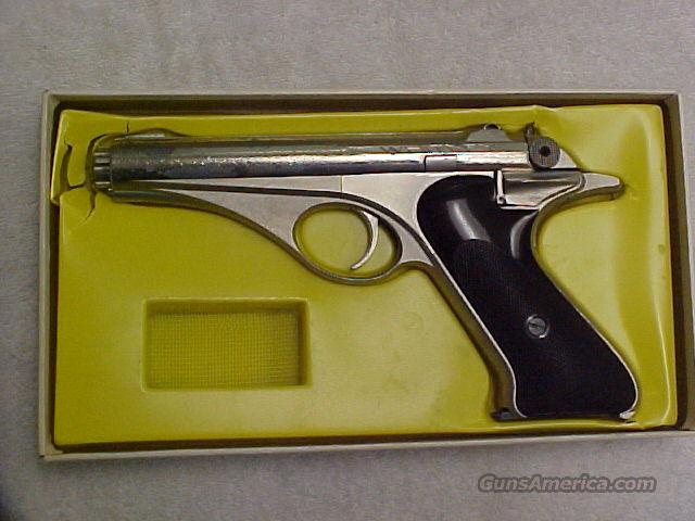 Whitney Nickel finish 1950's  Guns > Pistols > Whitney Arms Pistols