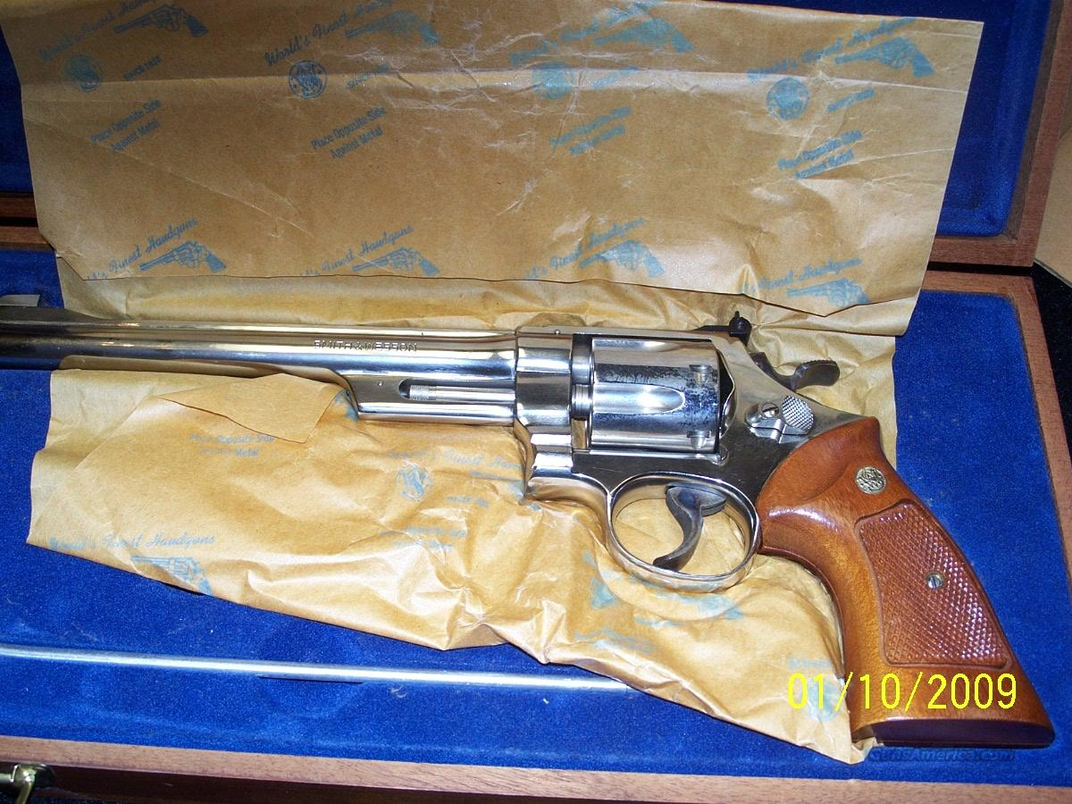 smith wesson model 27-2 nickle finish 8 3/8  Guns > Pistols > Smith & Wesson Revolvers > Full Frame Revolver