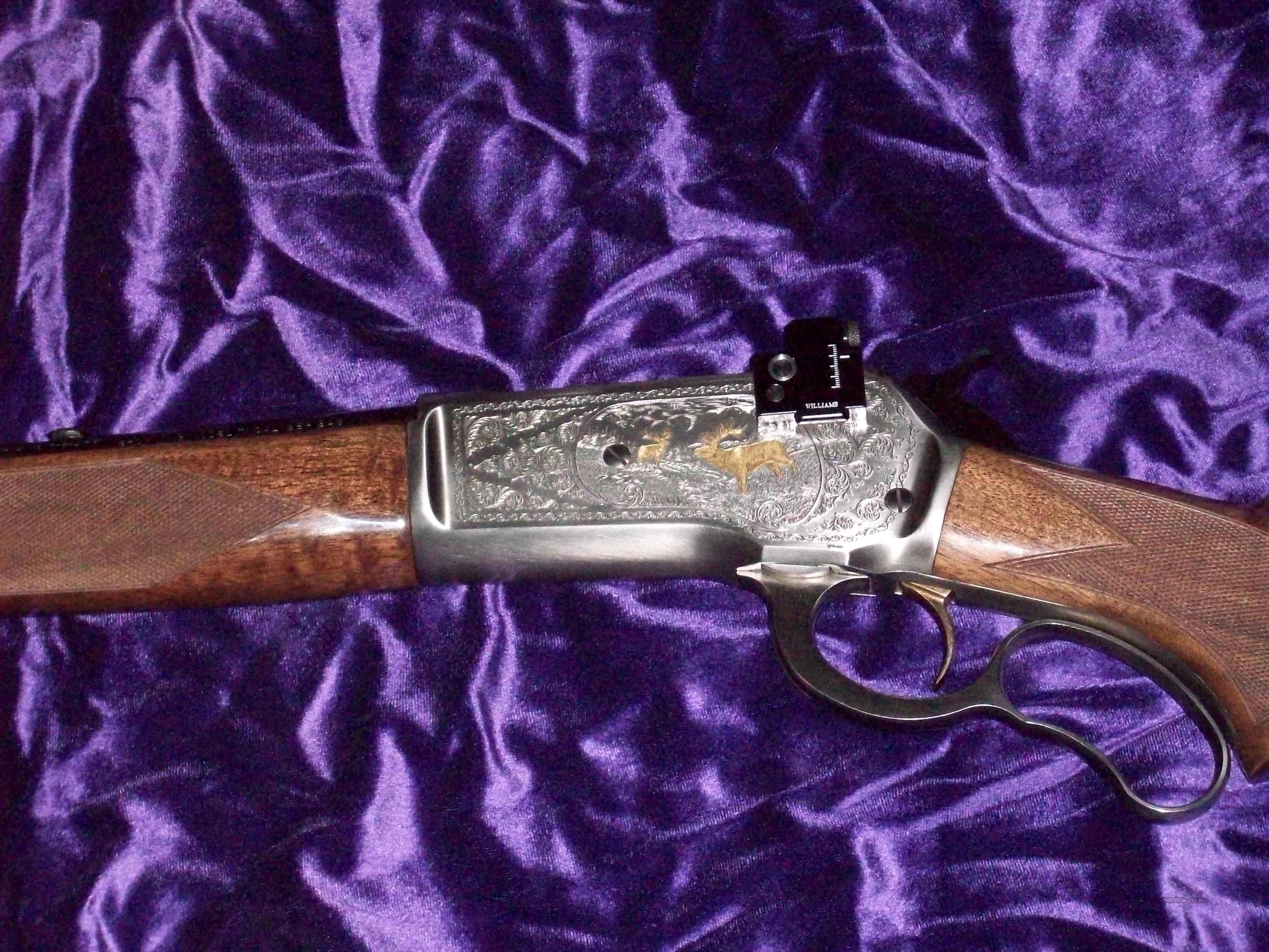 Browning M71 Deluxe  Guns > Rifles > Browning Rifles > Lever Action