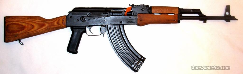 Romanian AK-47 Rifle w/ Wood Stock and Wood Forearm 7.62x39mm  Guns > Rifles > AK-47 Rifles (and copies) > Full Stock