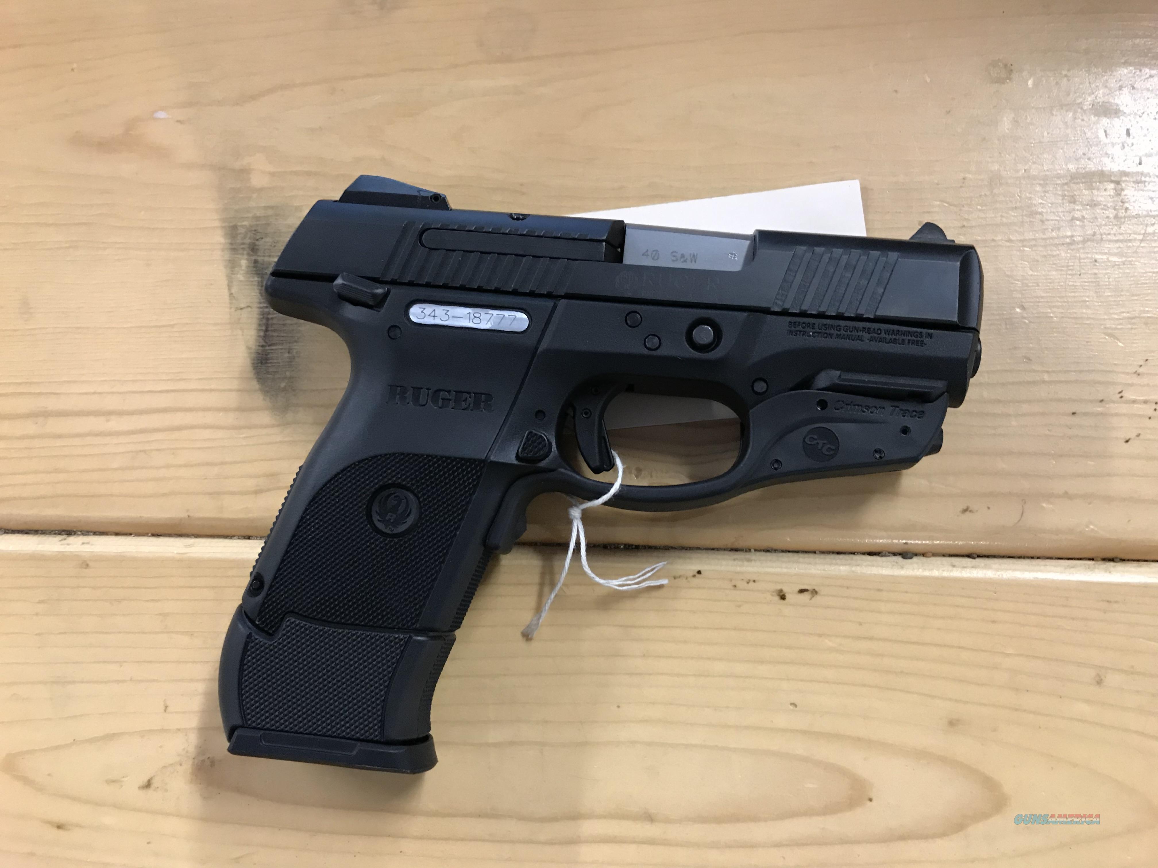 Ruger  Guns > Pistols > Ruger Semi-Auto Pistols > SR Family > SR40C