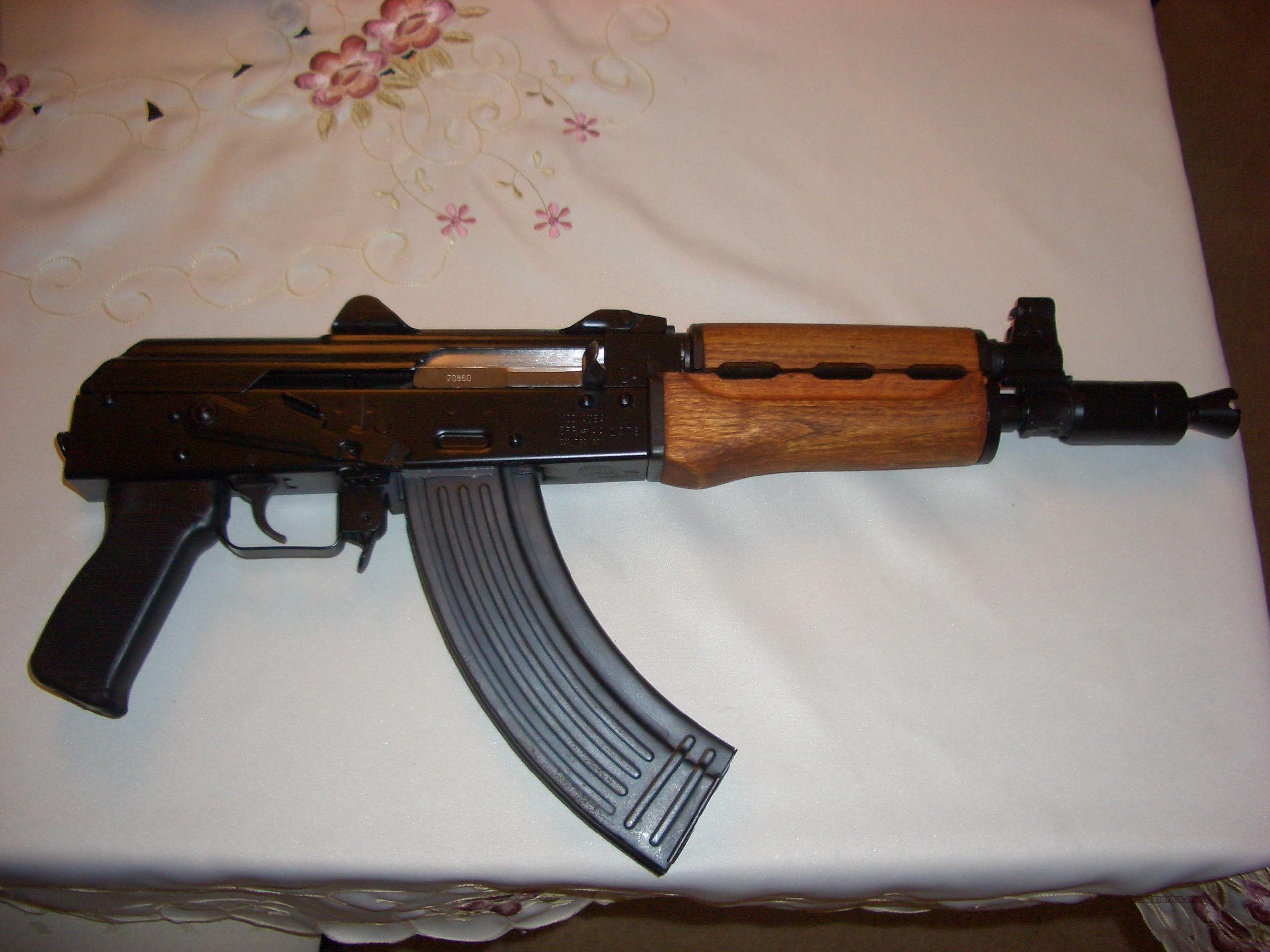 Yugo M92 Zastava Krinkov Pistol AK47 Armory  Guns > Rifles > AK-47 Rifles (and copies) > Full Stock