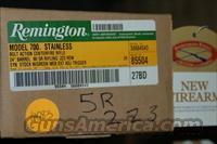 REMINGTON 5R .223  Guns > Rifles > Remington Rifles - Modern > Model 700 > Sporting