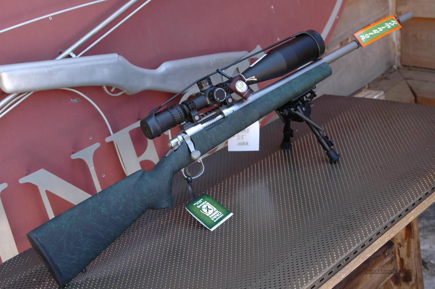 REMINGTON 5R .308 NIGHTFORCE NXS PACKAGE   Guns > Rifles > Remington Rifles - Modern > Model 700 > Sporting