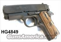 Springfield Armory .45 GI Micro 1911 Mil-Spec Parkerized 2 Mags Near Mint in Box  Guns > Pistols > 1911 Pistol Copies (non-Colt)