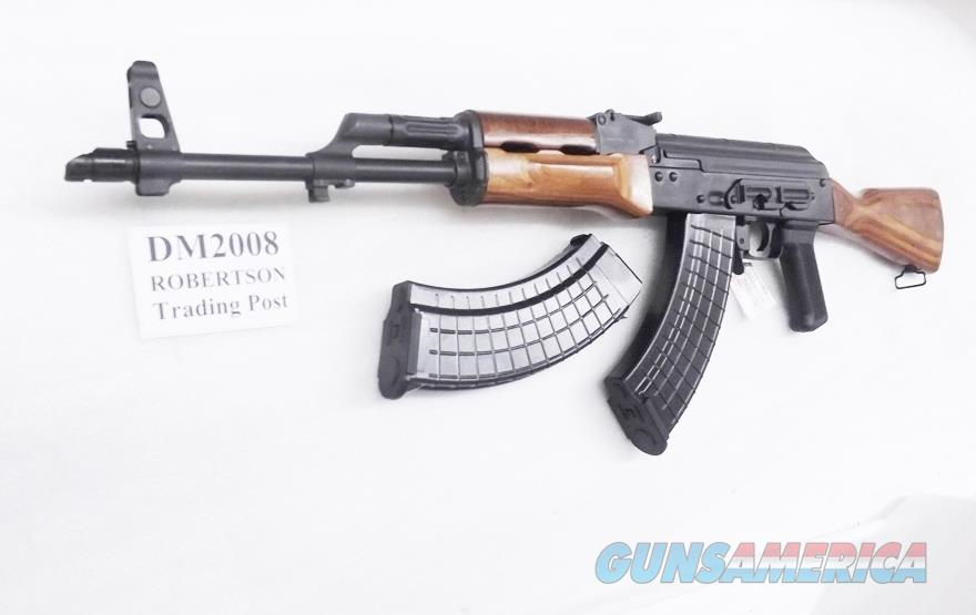 Inter Ordnance AK47 Radom 7.62x39 AKM247C Wood Stock Heat Treated Receiver 2 30 Shot Magazines Shovel Nose 16 inch IODM2008  Guns > Rifles > AK-47 Rifles (and copies) > Full Stock