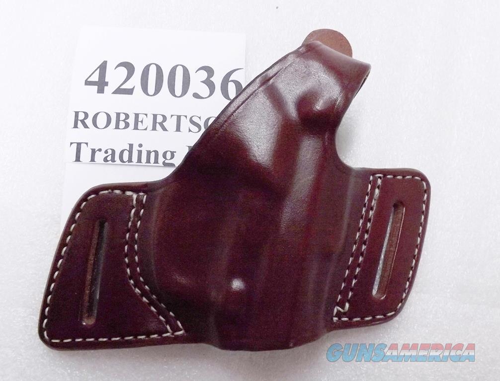 Triple K Leather Holster Secret Agent 420036 Beretta 92 96 Taurus 92 99 917 CZ75 type TA90 TZ75 Thumb Break Right Hand Brown Walnut Oil 3 ship Free!  Non-Guns > Holsters and Gunleather > Large Frame Auto