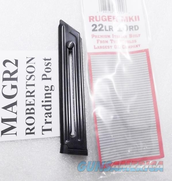 Ruger Mark II .22 Mec-Gar OEM 10 round Magazines Blue Steel MK22LRB type MAGR2 Buy 3 Ships Free!   Non-Guns > Magazines & Clips > Pistol Magazines > Other