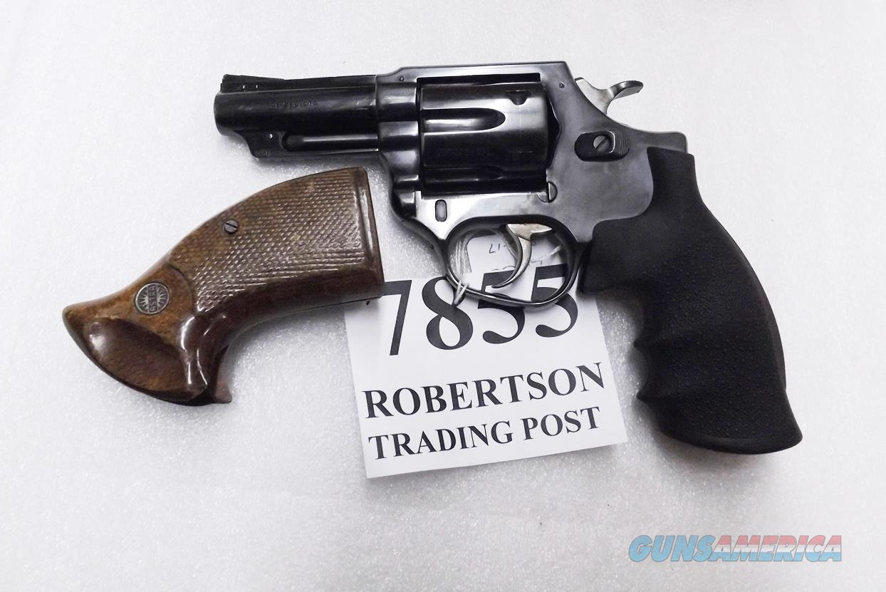 Astra Spain .38 Special Police model Large Frame Revolver 6 Shot 3 inch Blue Steel 2 Sets of Grips Very Good 1986 Guernica Vitoria Basque Municipal Police Issue +P OK  Guns > Pistols > Astra Pistols