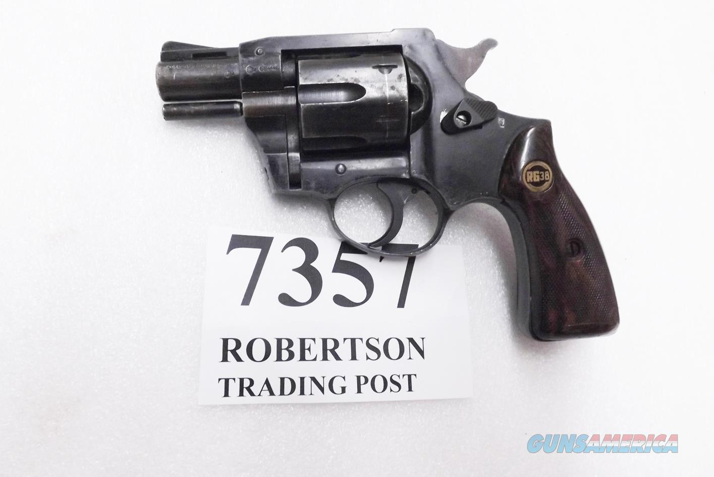 Rohm .38 Special RG38 Gunsmith Special Repairs Needed Revolver Snub 2 inch Vent Rib Pinned Barrel 1967 Production C&R OK  Guns > Pistols > FIE Pistols