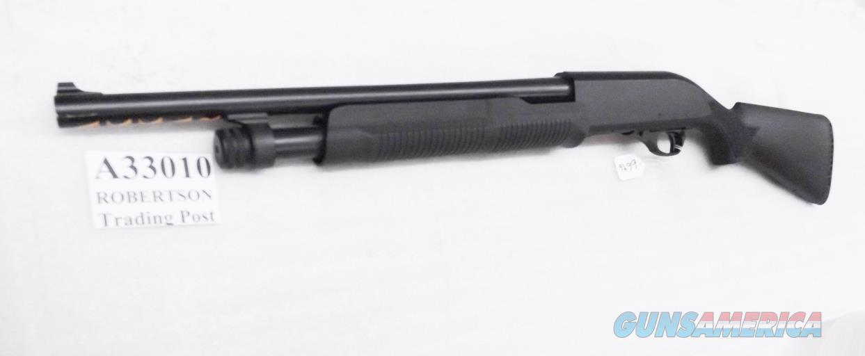Akkar  300HD Home Defense Tactical  12 Gauge Pump 3 inch 18 in Cylinder Bore 5 Shot Synthetic Benelli Nova type Exc in Box Charles Daly Importer A33010  Guns > Shotguns > AKKAR