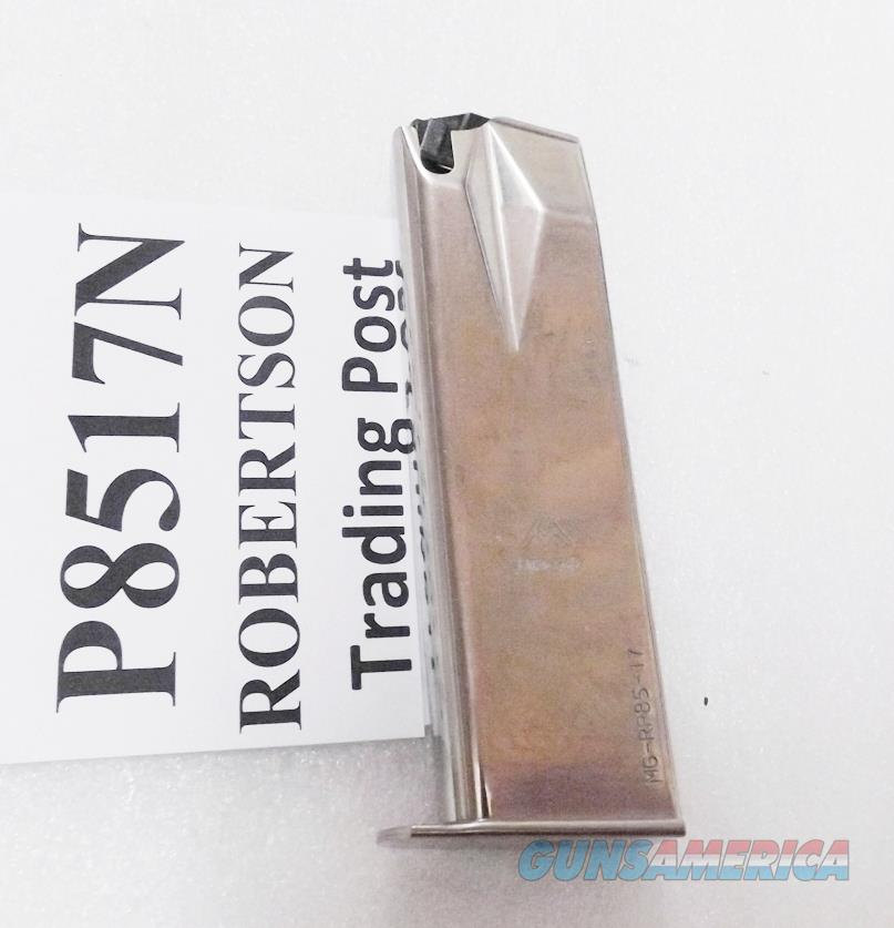 Mec-Gar 17 round Nickel Magazines for Ruger 9mm P85 P89 P93 P94 P95 New Blue Steel RP8517N Buy 3 Ships Free!  Non-Guns > Magazines & Clips > Pistol Magazines > Other