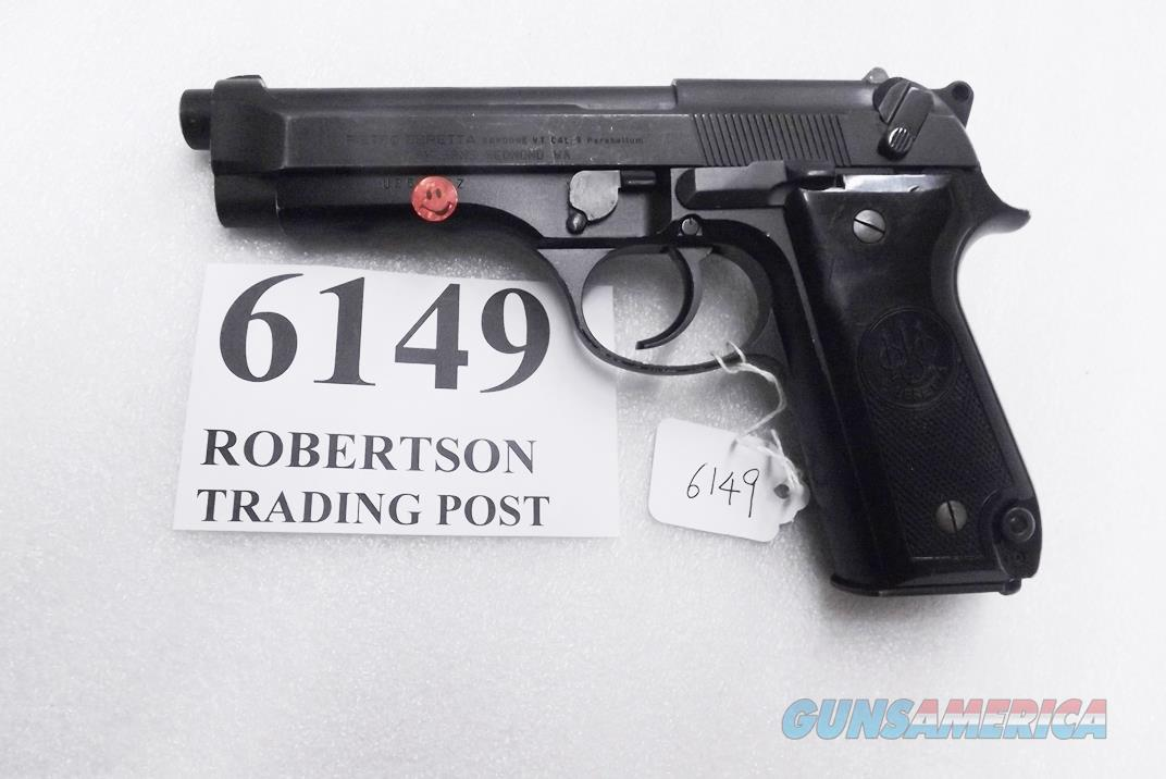 Beretta 9mm model 92S Italian Military Police VG+ JS92F300M type / ancestor c1978 Brunitron Frame, Oxide Slide & Barrel w1 15 round Magazine +OR  Guns > Pistols > Beretta Pistols > Model 92 Series