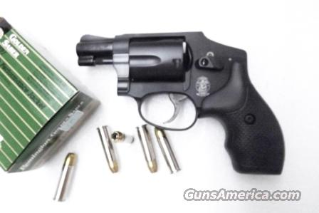 S&W .38 Special model 442-2 Centennial Airweight Matte Blue Finish 38 Special +P with Internal Lock NIB Smith & Wesson SKU 162810  Guns > Pistols > Smith & Wesson Revolvers > Pocket Pistols