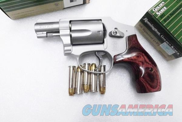 S&W .38 Special +P Centennial Airweight 642-2 Ladysmith Stainless NIB 38 Spl Smith & Wesson 163808A  Spl  Model 642  Discount 2% if No CC  Guns > Pistols > Smith & Wesson Revolvers > Small Frame ( J )