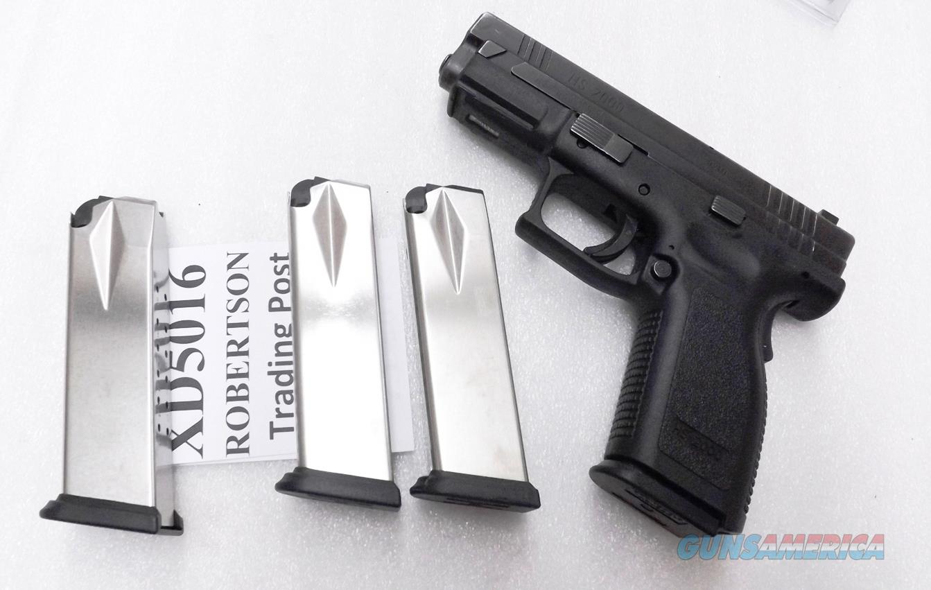 3 Springfield Armory XD 9mm Factory 16 Round Magazines High Capacity Stainless NIB NO XDM XD5016 $21 each XD9 SHIPS FREE!   Non-Guns > Magazines & Clips > Pistol Magazines > Other