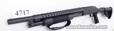 Mossberg 12 gauge model 500 Special Purpose Collapsible Buttstock Tactical Forend Strap Trench Gun type Heat Shield 3 inch 18 Cylinder 6 Shot Excellent Condition Factory Demo 50420TU   Guns > Shotguns > Mossberg Shotguns > Pump > Tactical