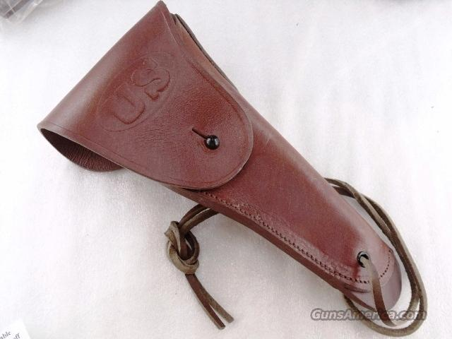 GI style Holster 45 Autos 1911 Pistols New India Leather WWI WWII type GL002 Colt Government Model 45 Automatic  Non-Guns > Holsters and Gunleather > Large Frame Auto