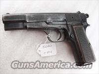 FEG Hungary 9mm Browning Hi-Power Copy FEG Hungarian P9M PJK-9HP Commander Hammer 1980s  FEG Pistols