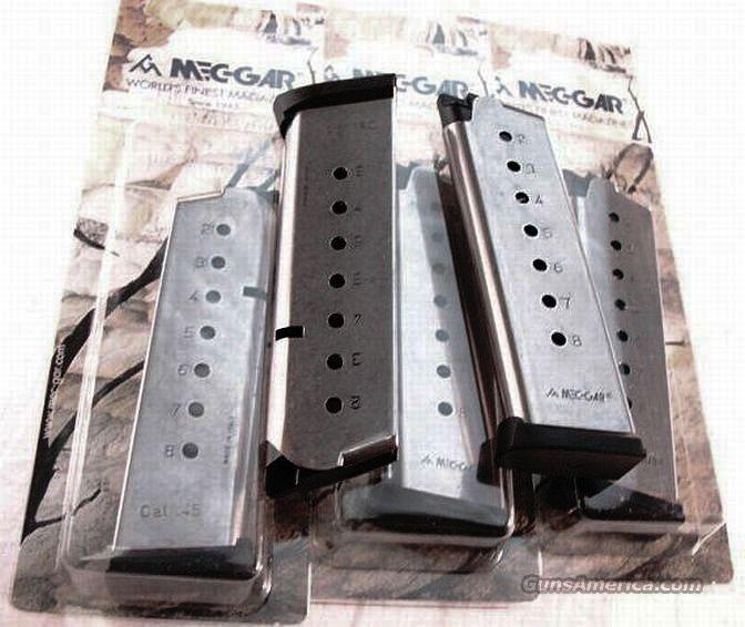 ACT-Mag 45 ACP 1911 Govt New Magazine Stainless 8 Shot    Non-Guns > Magazines & Clips > Pistol Magazines > 1911