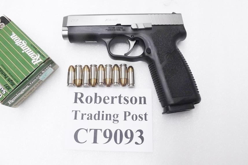 Kahr Arms 9mm Model CT 9 Packed NIB Karr CT-9 8 Shot 1 Magazine CT9093   Guns > Pistols > Kahr Pistols