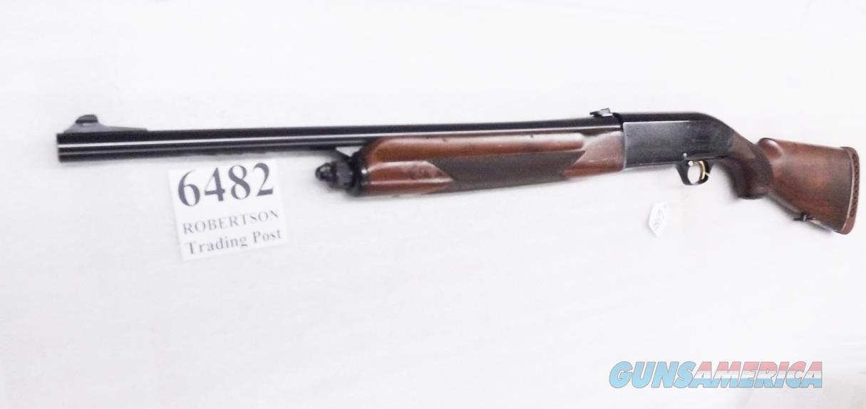"Beretta 12 gauge model A302 Auto Good 22 inch Rifle Sights 2 3/4 in Smooth Cylinder Bore 1984 Gun with New 1992 Barrel J30TA18 Ancestor Blue & Youth 12"" Walnut Stock  Guns > Shotguns > Beretta Shotguns > Autoloaders > Hunting"