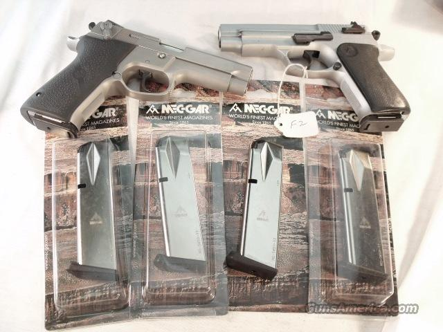 Magazines Smith & Wesson 59 5900 Series Mec-Gar 17 Shot Nickel also Daewoo Star 30M1 Star 28 models 469 669 6904 6906 5903 5904 910 5906 5946 5986 Brand New  Non-Guns > Magazines & Clips > Pistol Magazines > Smith & Wesson
