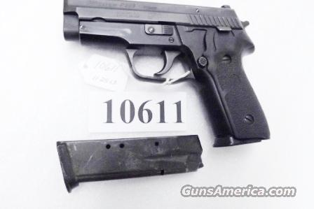 Sig .40 S&W Model P-229 DAK Black Stainless 13 Shot 2 Magazines Excellent ca 2002 Beverly MA Police Dept Sig Sauer Arms Double Action Only    Guns > Pistols > Sig - Sauer/Sigarms Pistols > P229