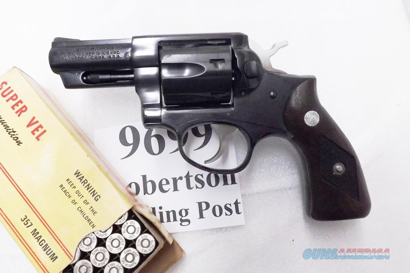 Ruger .357 Magnum Speed Six 2 3/4 inch Blued Steel 1980 production VG KGPF331 GP100 Ancestor 1712 type GS32   Guns > Pistols > Ruger Double Action Revolver > Security Six Type