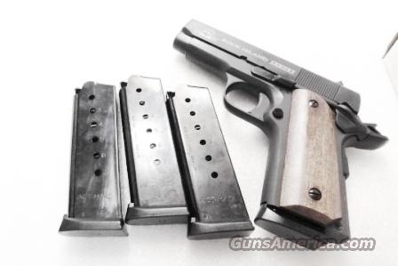 Lots of 3 or more Magazines .45 ACP Compact 1911 Officer New Agent Blue Steel 7 Shot ACT-Mag Brand New Italian Made Mec Gar Competitor 45 Automatic API Compact  Non-Guns > Magazines & Clips > Pistol Magazines > 1911