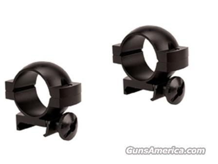 Scope Rings Tasco .22 Grooved Receiver 1 inch Black Matte New our SM797DSC  Non-Guns > Scopes/Mounts/Rings & Optics > Mounts > Other