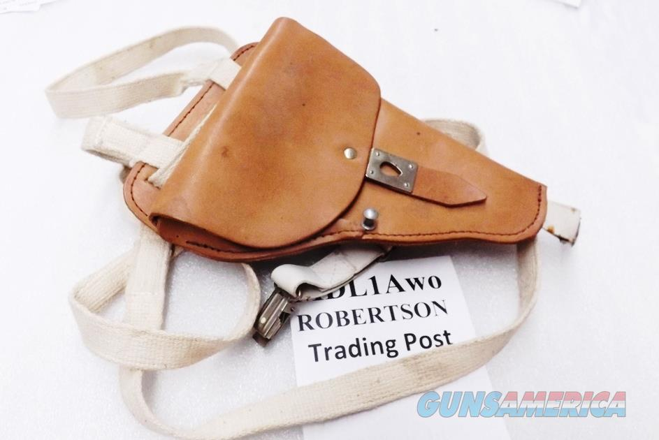 German Leather Shoulder Holster for Makarov PPK P64 size pistols East German Police 1980s Production Excellent MDL1A   Non-Guns > Holsters and Gunleather > Revolver