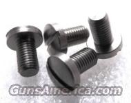 Colt Government Single Slot Stainless Grip Screws Set of 4 any 1911 JMA4519S fit Officers Armscor AOC Kimber any 1911 Family Pistol  Non-Guns > Gun Parts > 1911